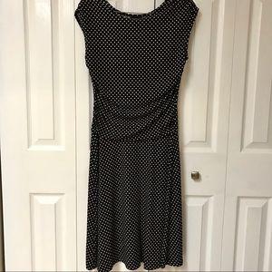 Women's size 10 Enfocus Studio polka dot dress